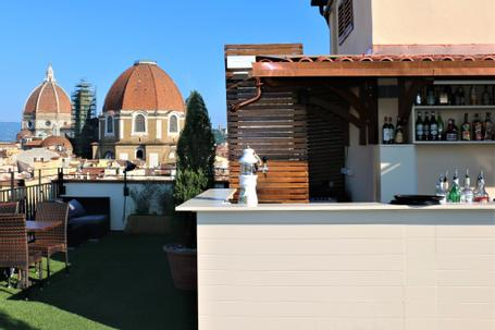 Hotel Machiavelli Palace | Florence | ROOFTOP BAR