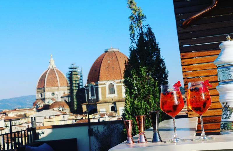 Hotel Machiavelli Palace | Florence | Roof Terrace